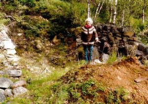 Inkeri 2408_2014 Bjorklundin kampan raunioilla