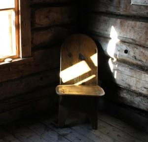 Toinen kultalan tuoleista Pahaojalla 2013 sympossa